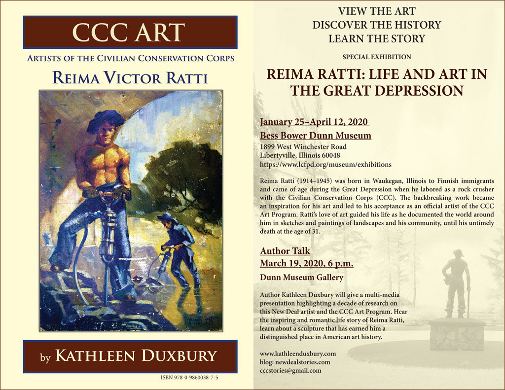 2020 Reima Ratti Exhibit at Dunn Museum information